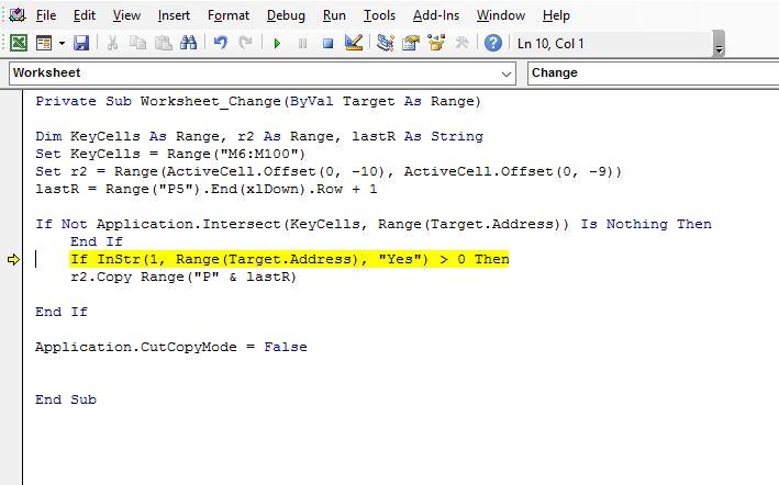 Error in Target Code.JPG