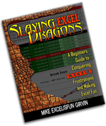 Slaying Excel Dragons eBook Img- links to MrExcel Store