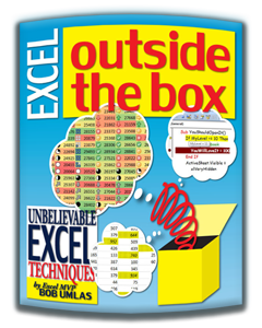 """Excel Outside the Box"" by Bob Umlas, Microsoft MVP"