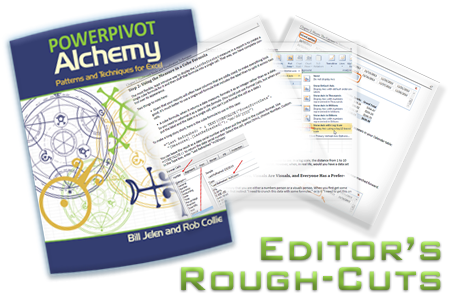 PowerPivot Alchemy by Bill Jelen and Rob Collie