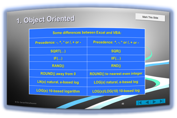 """Excel VBA 2013"", by Dr. Gerard M. Verschuuren"