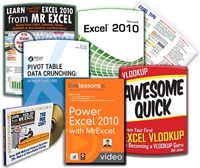 Excel 2010 Pro Power Bundle