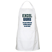 Excel Guru Whip Up a Macro Apron