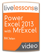 """Power Excel 2013"" with Bill Jelen a.k.a. MrExcel!"