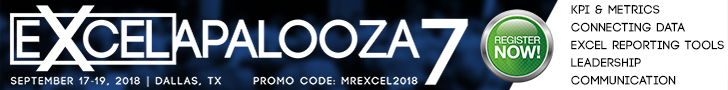 Attend Excelapalooza