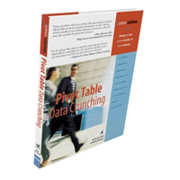 Pivot Table Data Crunching Book