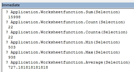 Copy the Quick Stats Values to the Clipboard - Excel Tips - MrExcel ...