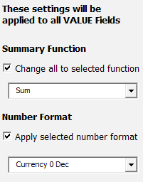 Control Number Format