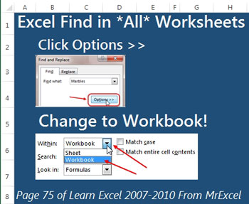 Excel Search Entire Workbook