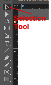 Indesign Selection Tool