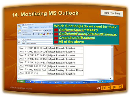 Mobilizing MS Outlook-2