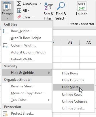 Excel is Revealing Protected Very Hidden Worksheets - Excel Tips