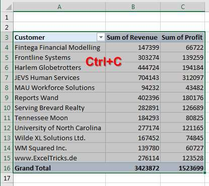 Slicer Selections in Title - Excel Tips - MrExcel Publishing