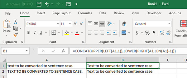 Select Case implementation with Excel formulas.