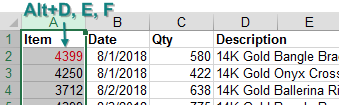Choose the column of text numbers in column A. Press Alt+D E F. The text numbers convert to numbers and the VLOOKUPs start working again.