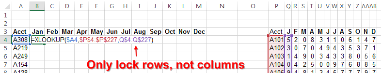 Multiple Columns of XLOOKUP