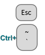 Just under the Escape key, there is a key with a Tilde and a Grave Accent. Hold down Ctrl and press this key to toggle into Show Formulas Mode.