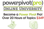 Power Pivot Pro University