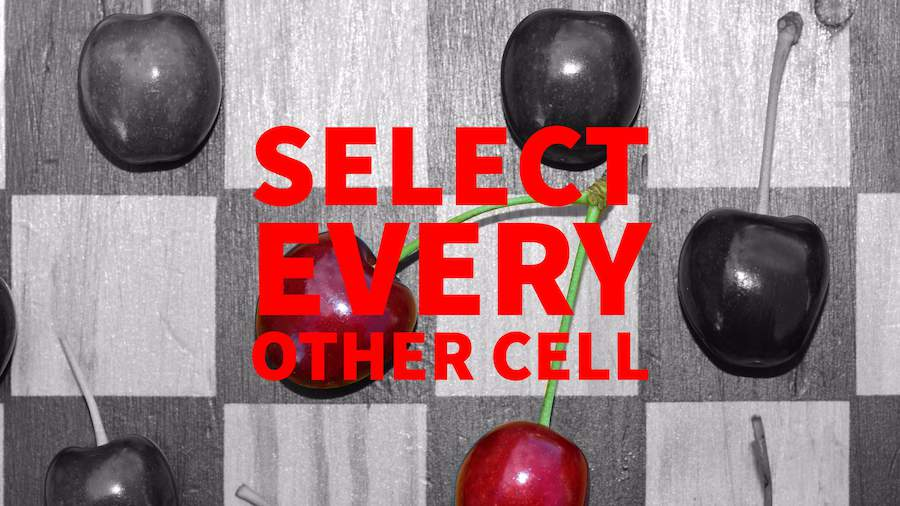 Select Every Other Cell