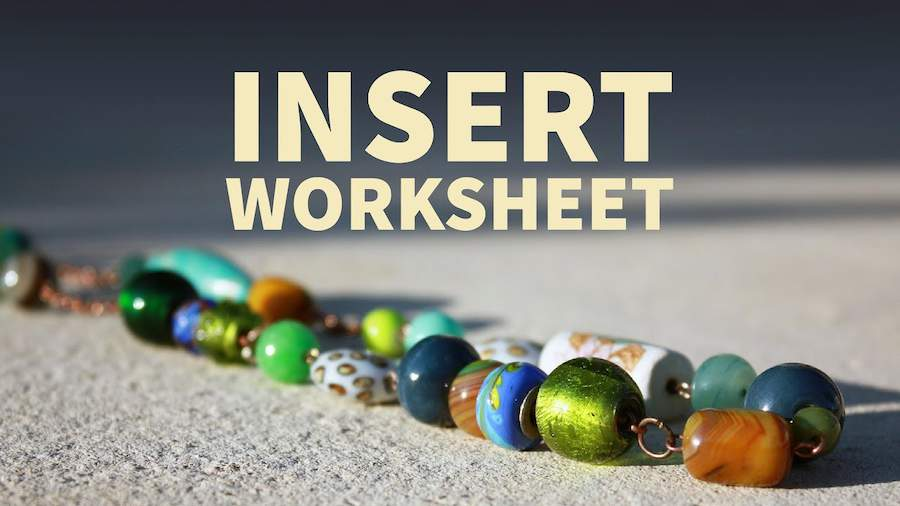 Excel Shortcut - Insert Worksheet