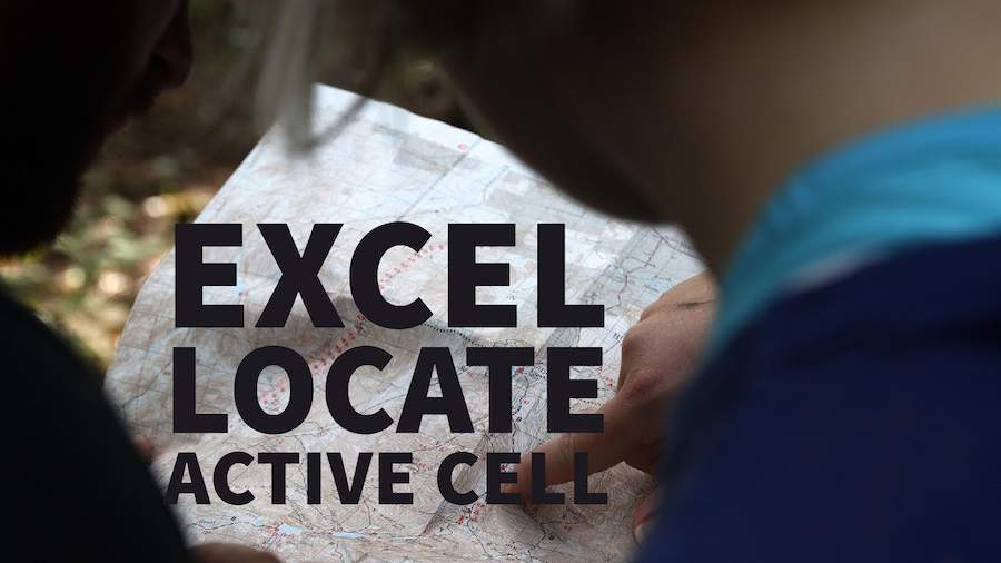Excel Shortcuts - Active Cell