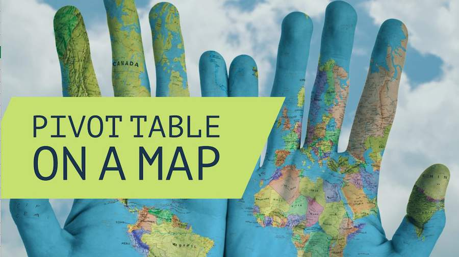 Pivot Table on a Map