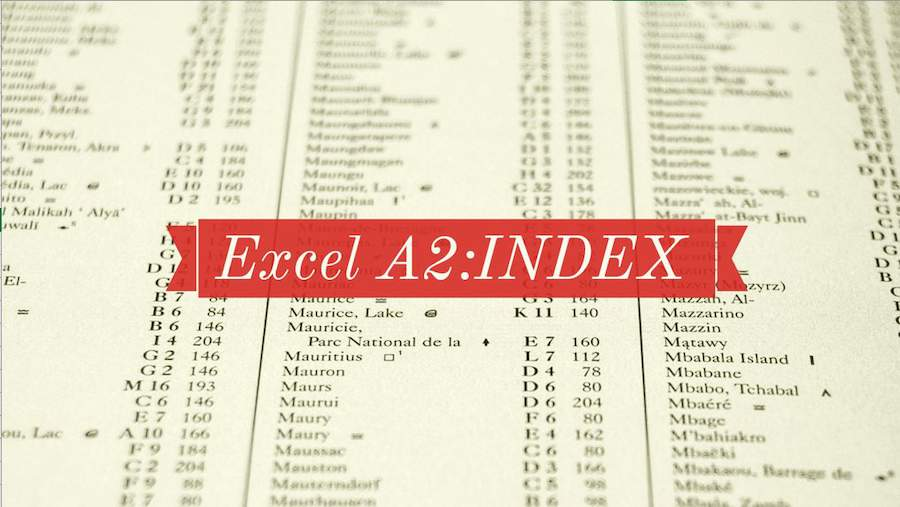 Learn Excel Replace OFFSET with INDEX - Excel Tips - MrExcel Publishing