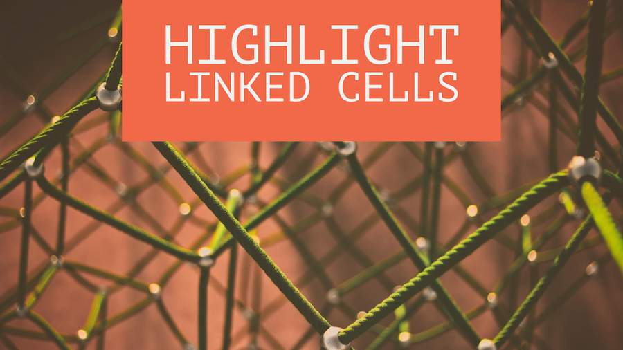 Mark Linked Cells
