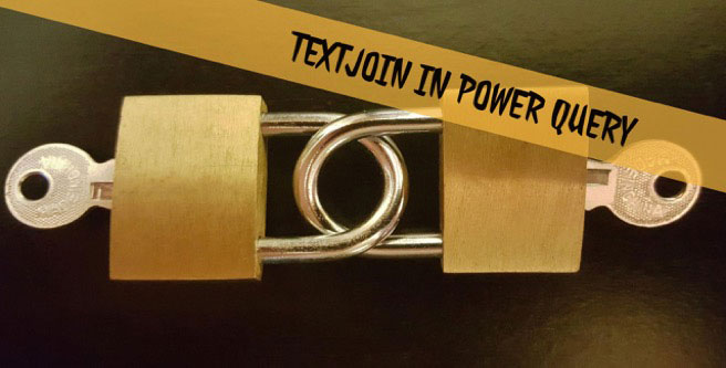 TEXTJOIN in Power Query