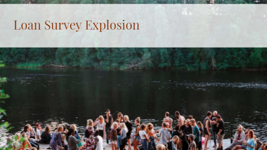 Loan Survey Explosion
