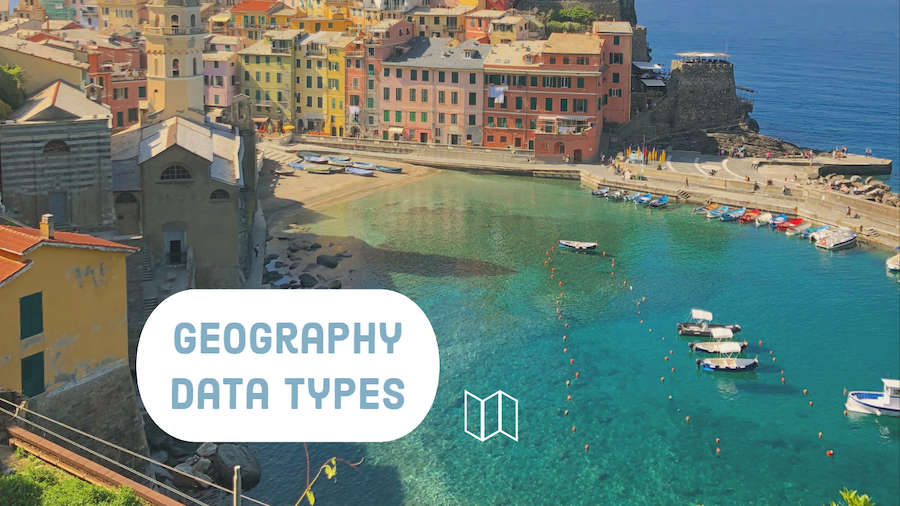 Geography Data Types in Excel