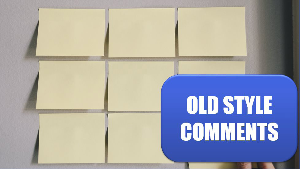Excel Old Style Comments Are Available as Notes. Photo Credit: Kelly Sikkema at Unsplash.com