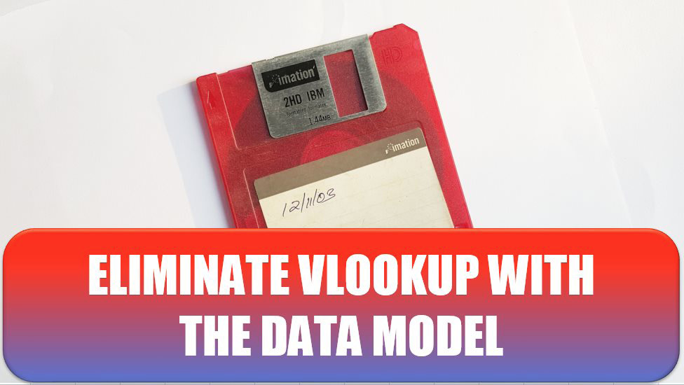 Eliminate VLOOKUP with the Data Model. Photo Credit: Fredy Jacob at Unsplash.com