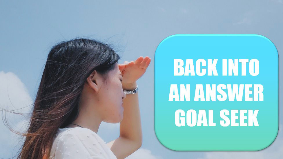 Back into an Answer by Using Goal Seek. Photo Credit: Jason Wong at Unsplash.com