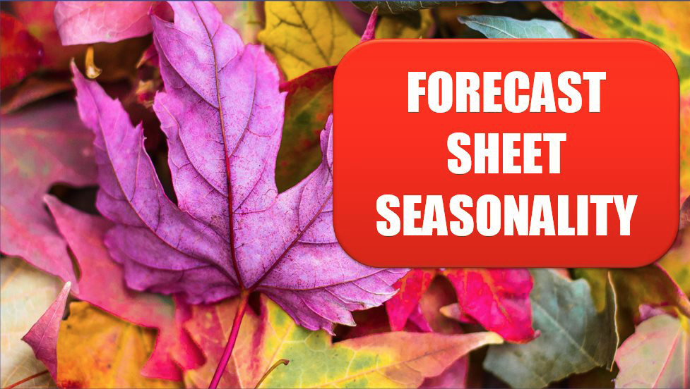 Excel The Forecast Sheet Can Handle Some Seasonality. Photo Credit: Jeremy Thomas at Unsplash.com