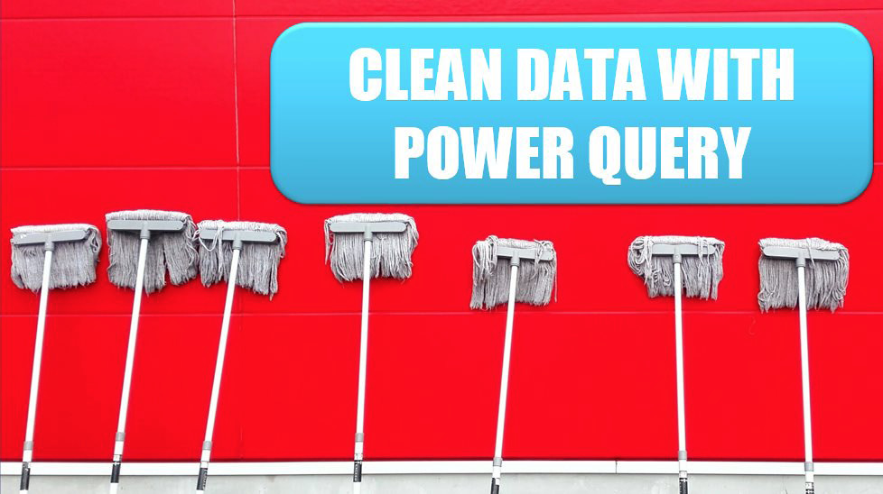 Clean Data with Power Query. Photo Credit: pan xiaozhen at Unsplash.com