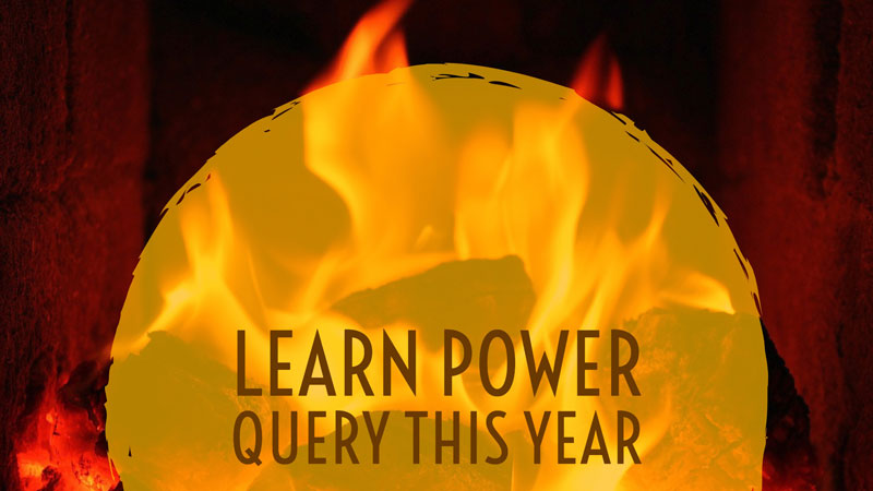 Resolve to Learn Power Query in 2018