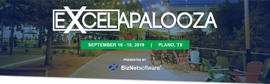 MrExcel and Other MVPs to Return to Excelapalooza 2019
