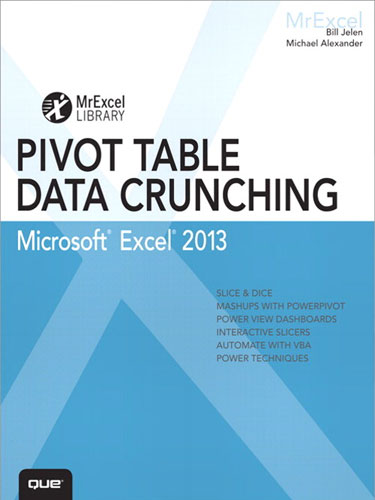 Pivot Table Data Crunching Microsoft Excel 2013