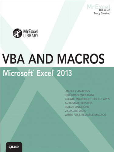 VBA and Macros Microsoft Excel 2013