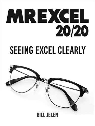 MrExcel 2020 - Seeing Excel Clearly