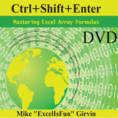 Ctrl+Shift+Enter DVD
