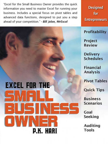Excel for the Small Business Owner