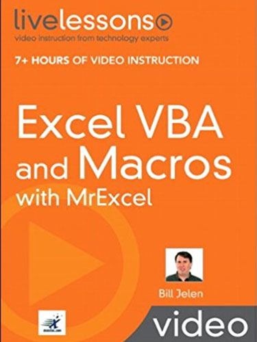 Excel VBA and Macros with MrExcel - MrExcel Products - MrExcel