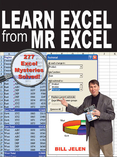 Learn Excel from MrExcel