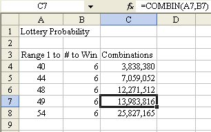 Analyze Lottery Numbers in Excel - TechTV Articles - MrExcel Publishing