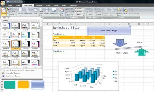 metropolitan theme excel download