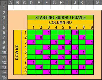 sudoku solver in excel techtv articles mrexcel publishing