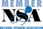 Member of the National Speakers Association