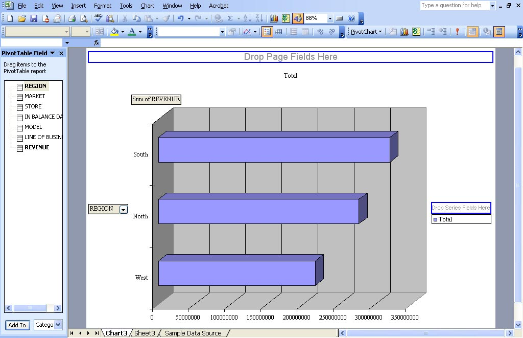 Pivot Charts in Excel - Use Excel PivotChart to Graph Data